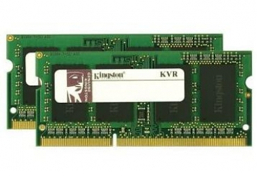 SO DDR3  2GB PC 1333 CL9  Kingston ValueRAM (256x16 s.rank) retail