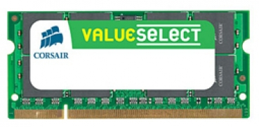 SO DDR3  2GB PC 1066 CL9   CORSAIR Value Select retail