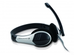 CONCEPTRONIC Headset Stereo Kabel Micro           +Fernbed.